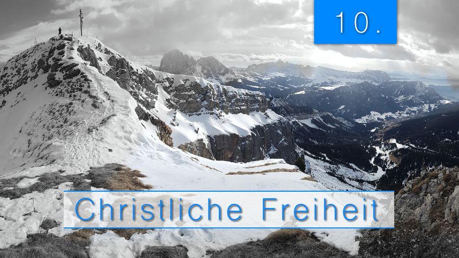 10.Bibelstudienmaterial - Christliche Freiheit