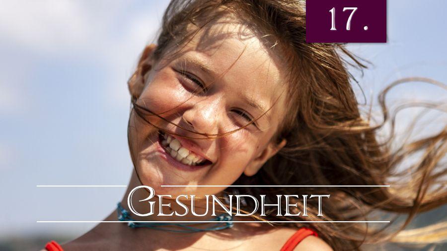 17.Bibelstudienthema - Gesundheit