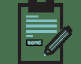 Datenschutz Kontaktformular Icon -