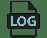 Datenschutz Logfiles Icon -
