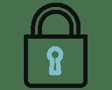 Datenschutz Sicherheit Icon -