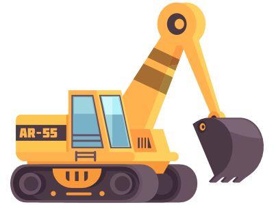 Construction Bagger 450 -