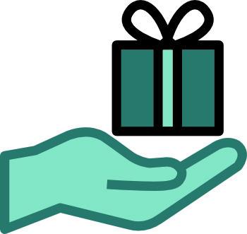 DonateWithHeart icon 350 -